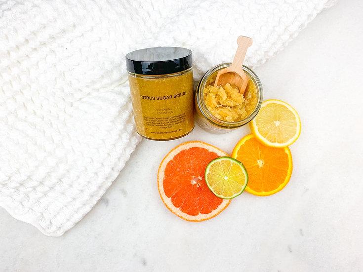 Citrus Sugar Scrub 6 oz