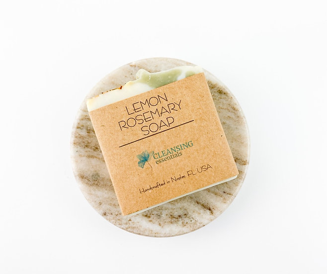 Lemon Rosemary Soap