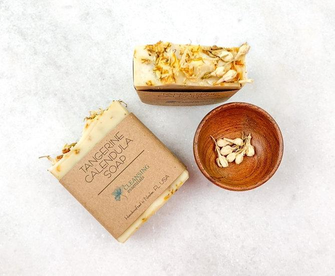 Tangerine Calendula Soap