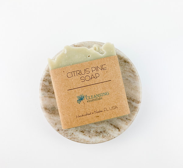 Citrus Pine Soap