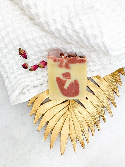 Rose Quartz Soap 1