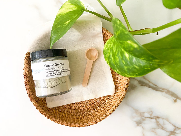 Detox Greens Dry Facial Mask