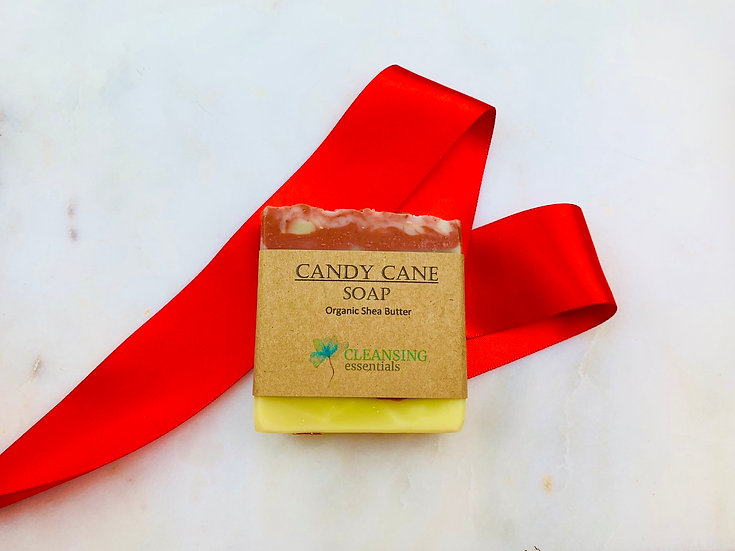 Candy Cane Soap 1