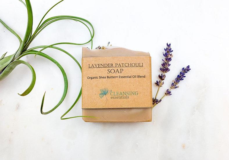 Lavender Patchouli Soap 1