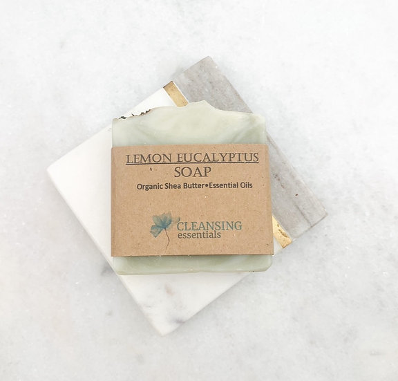 Lemon Eucalyptus Soap