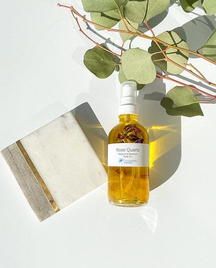 Rose Quartz Body Oil