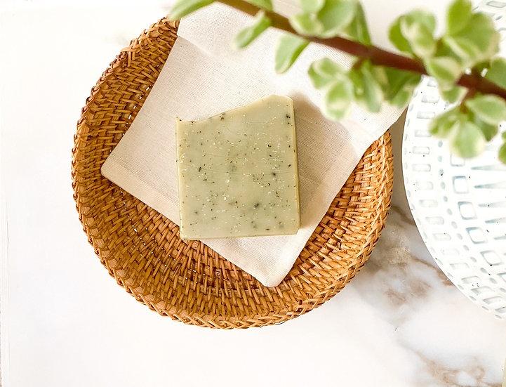 Nettle Leaf & Aloe Face Soap
