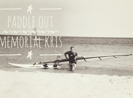 Memorial Kris - Paddle Out