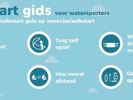 #safestart voor onze watersporters