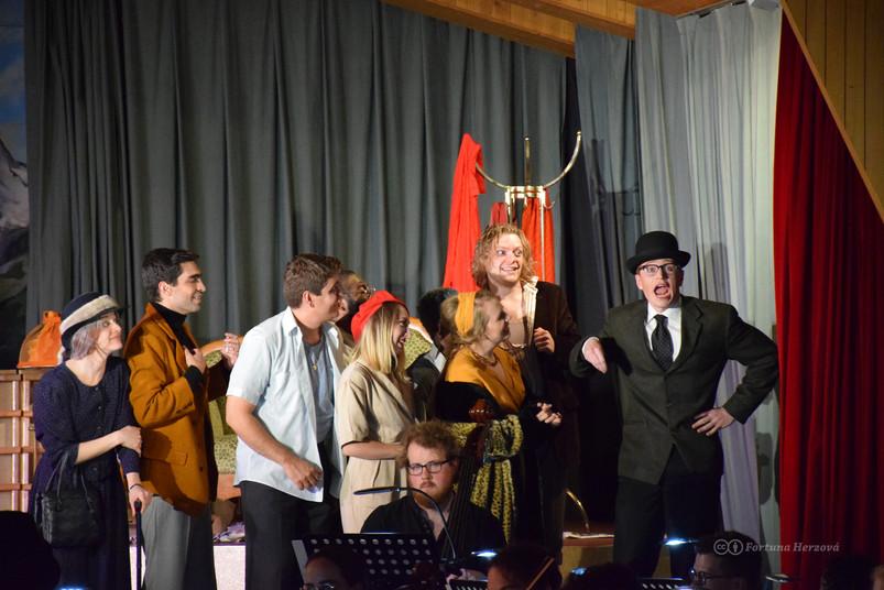 Gianni Schicchi – Opera  Costume Designer and Maker Gemaindesaal, Kandersteg, Switzerland, 2021