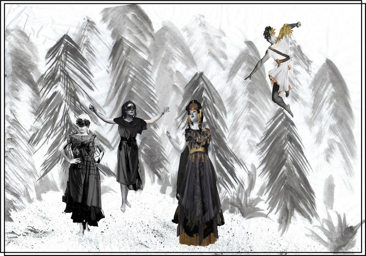 Dido and Aeneas Principle Character Costume Design