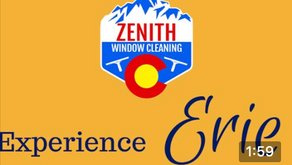 Experience clean windows with Zenith Window Cleaning!