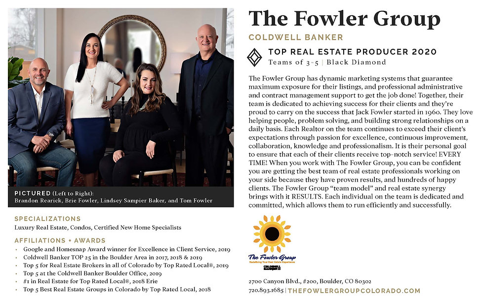 Top Real Estate Producer Black Diamond Award