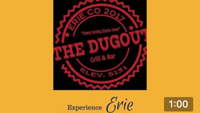 Experience Erie's Dugout Grill and Bar!