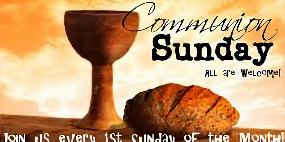 Holy Communion Service of 2021