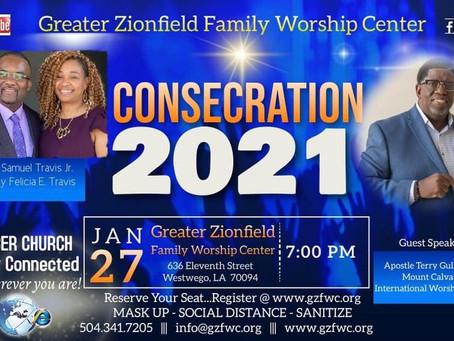 Consecration Night 2021