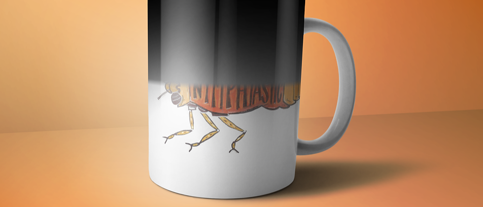 Color Changing Nymph Mug
