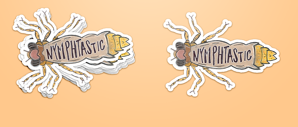 Nymph stickers