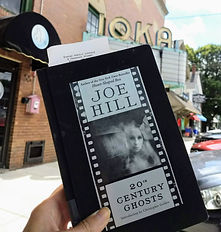 Joe Hill Exeter IOKA ghost story Exeter