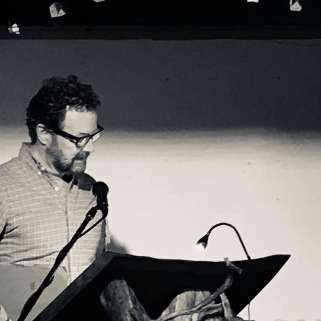 Ralph Sneeden at Word Barn LitFest poets