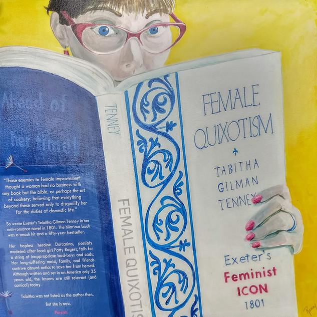 Female Quixotism by Tabitha Tenney paint
