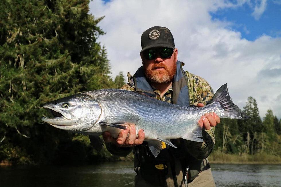 River Salmon Fishing Vancouver Island