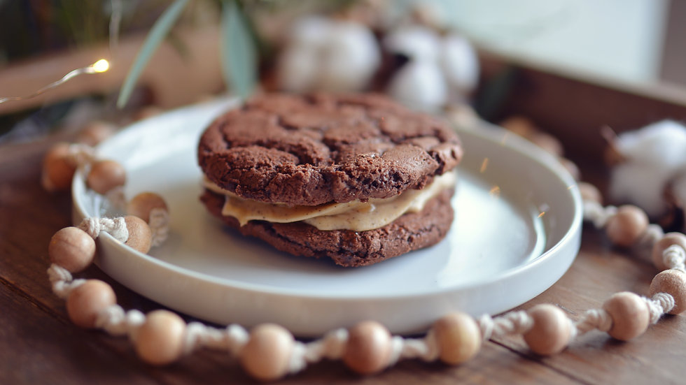 Brownie Caramel Latte