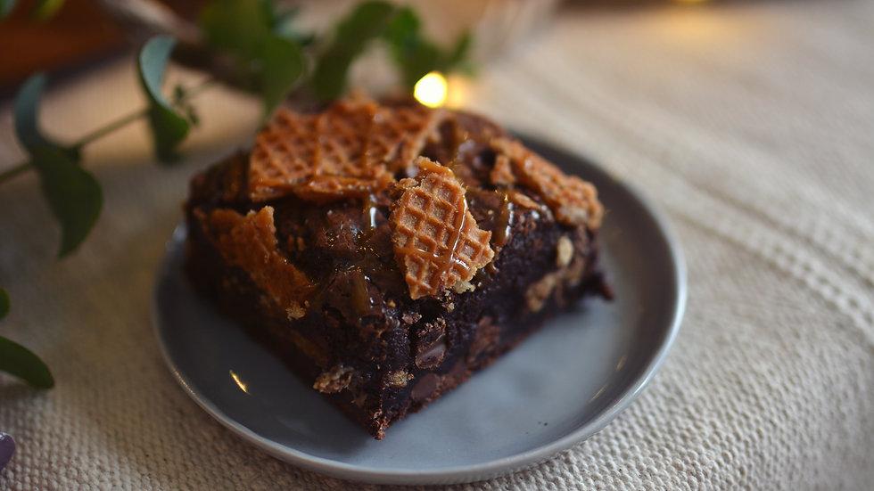 Stroop Waffle Caramel Brownie Flight