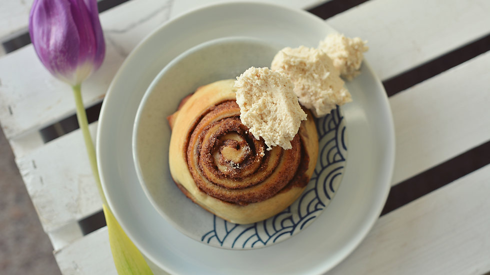 6- Coffee Cinnamon Rolls with Cold Brew Sweet Cream