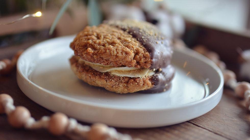Smores Cookie Sandwich