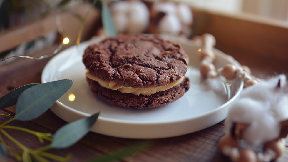 Brownie Cookie Sandwich