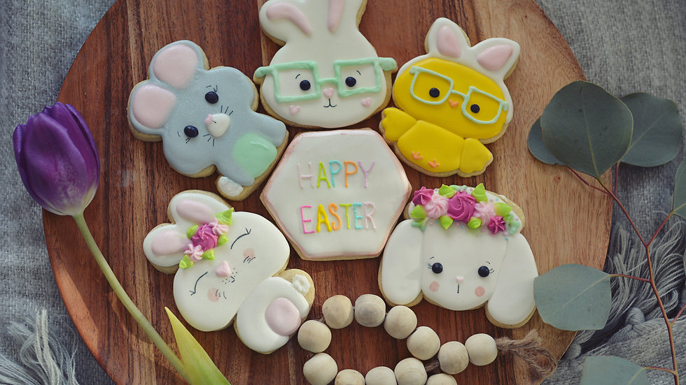 Easter Friends Cookies