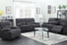 Boston MF08-5 Grey sofa set.jpg