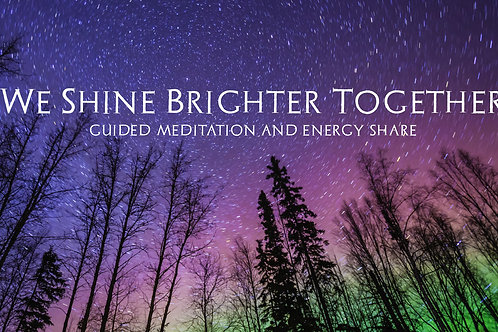 We Shine Brighter Together Gift Certificate