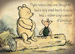 I am grateful for.....