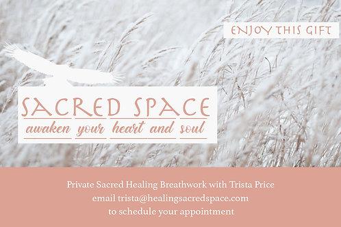 Private Sacred Healing Breathwork