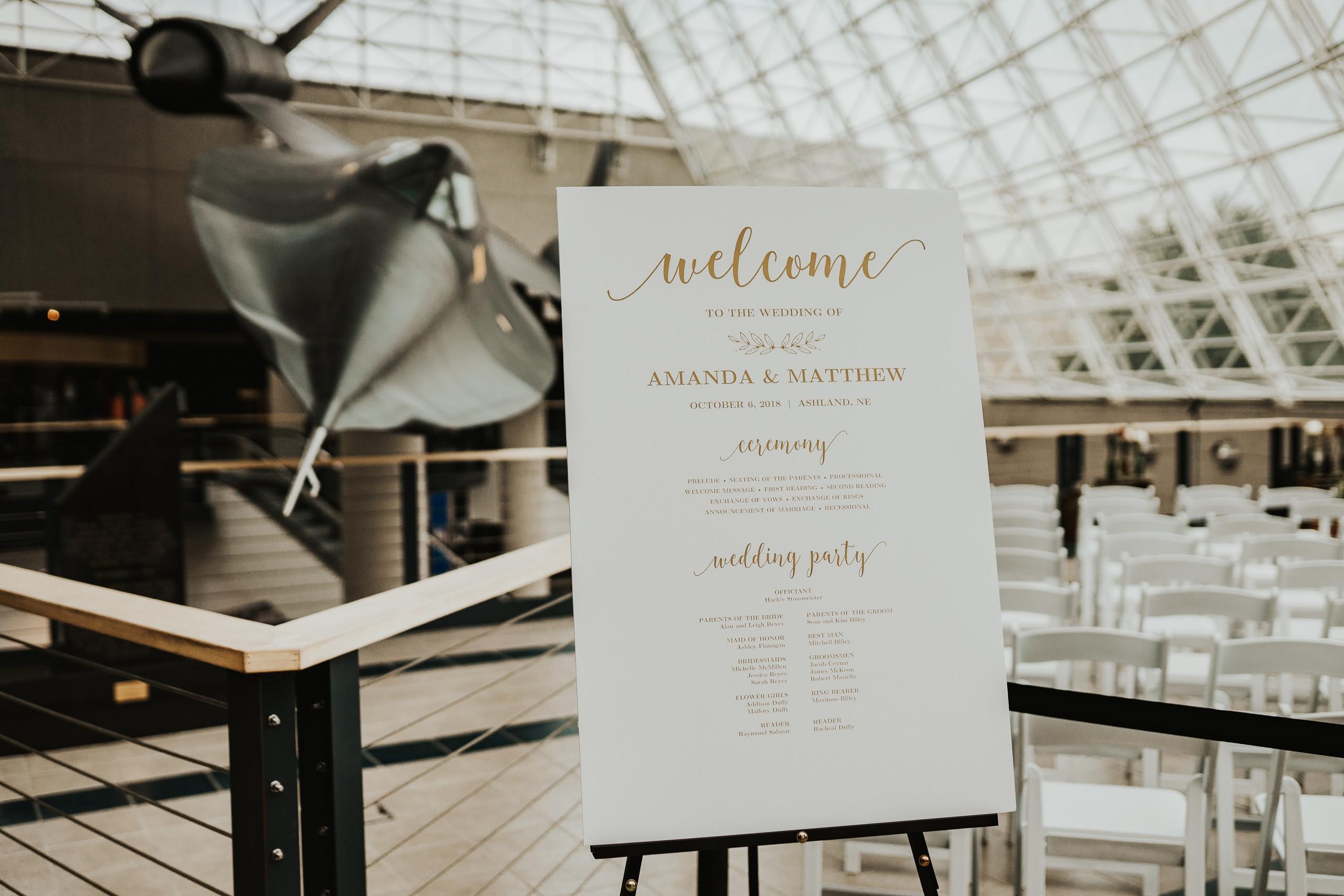 omaha wedding at the sac museum
