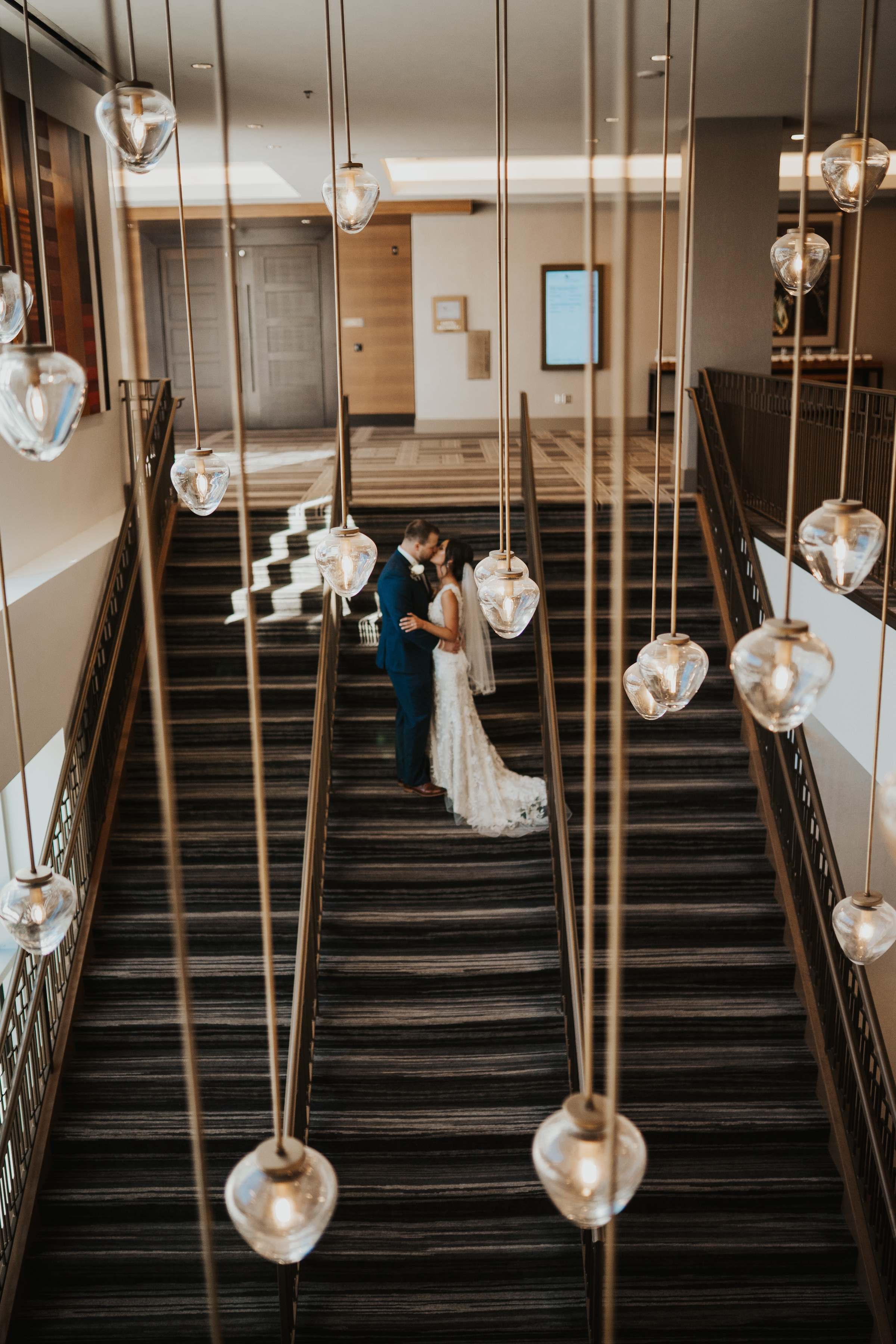 wedding at Omaha Marriott Downtown at the Capitol District