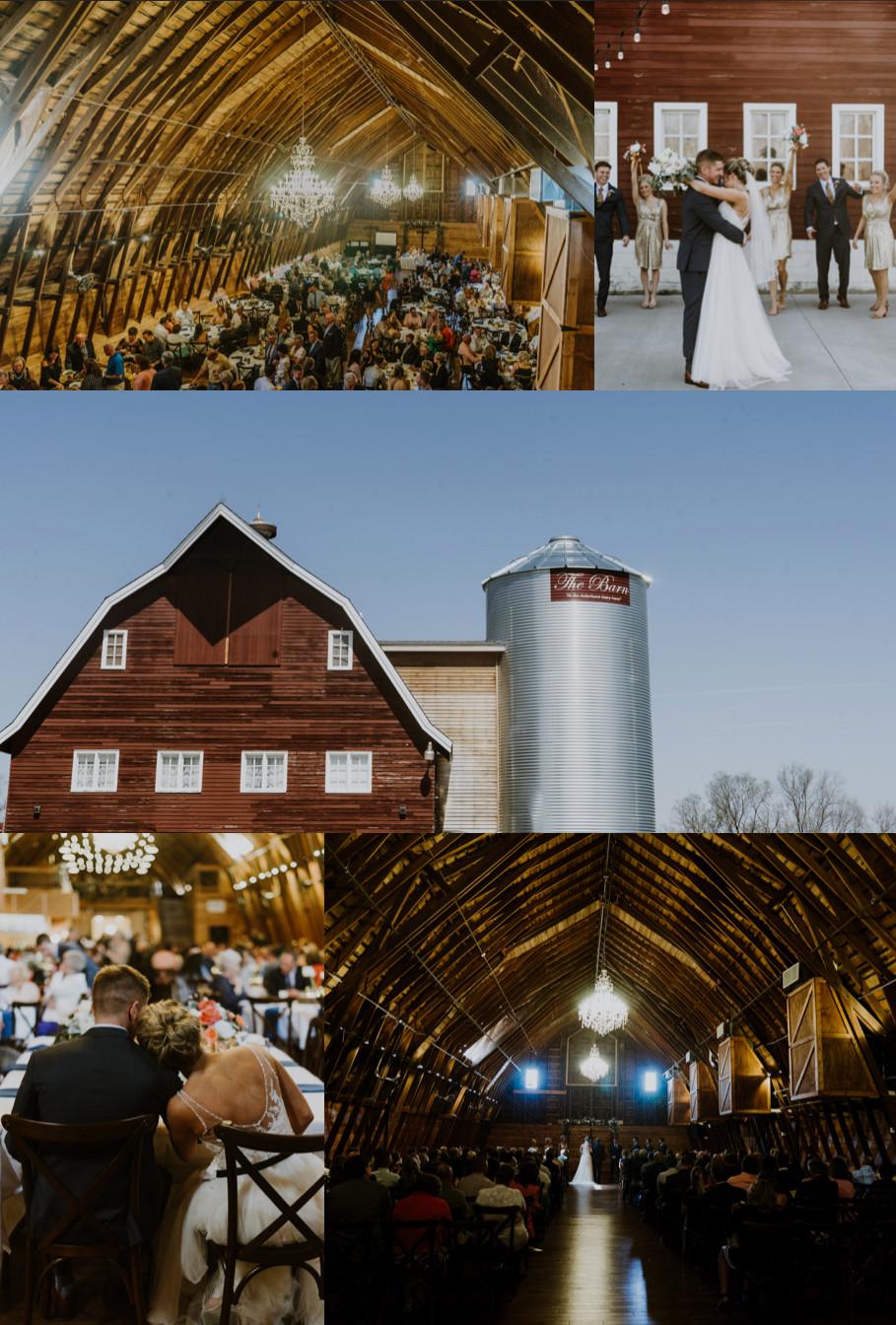 Omaha's Best Wedding Venues The Barn At Ackerhurst Dairy Farm
