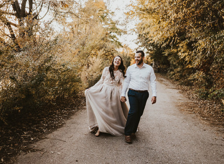 OMAHA FALL ENGAGEMENT SESSION