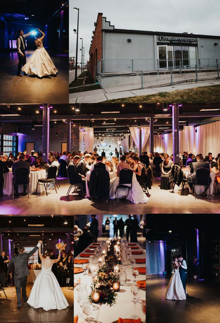 best wedding venues in omaha the diamond room