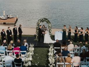 Omaha Luxury Backyard Wedding | Nebraska Wedding Photography