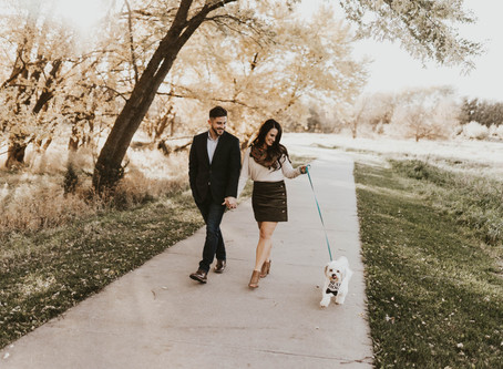 SHOULD I BRING MY DOG TO MY ENGAGEMENT SESSION?