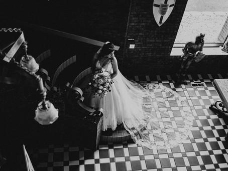 Castle Unicorn Wedding Photos in Pacific Junction, Iowa