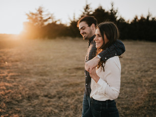 Engagement Session at Mahoney State Park, Nebraska