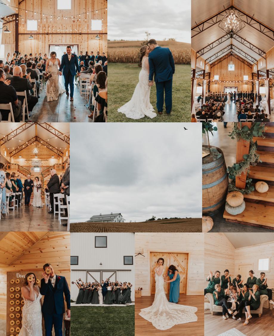 Best Wedding Venues in Omaha Wishing Hills Barn