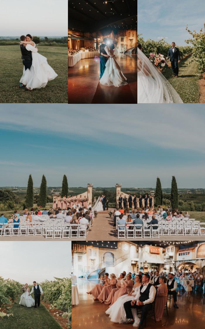 Best Wedding Venues in Omaha Bella Terre