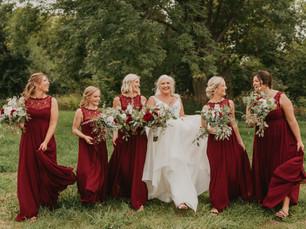 Sarpy County Fairground Wedding in Springfield, NE