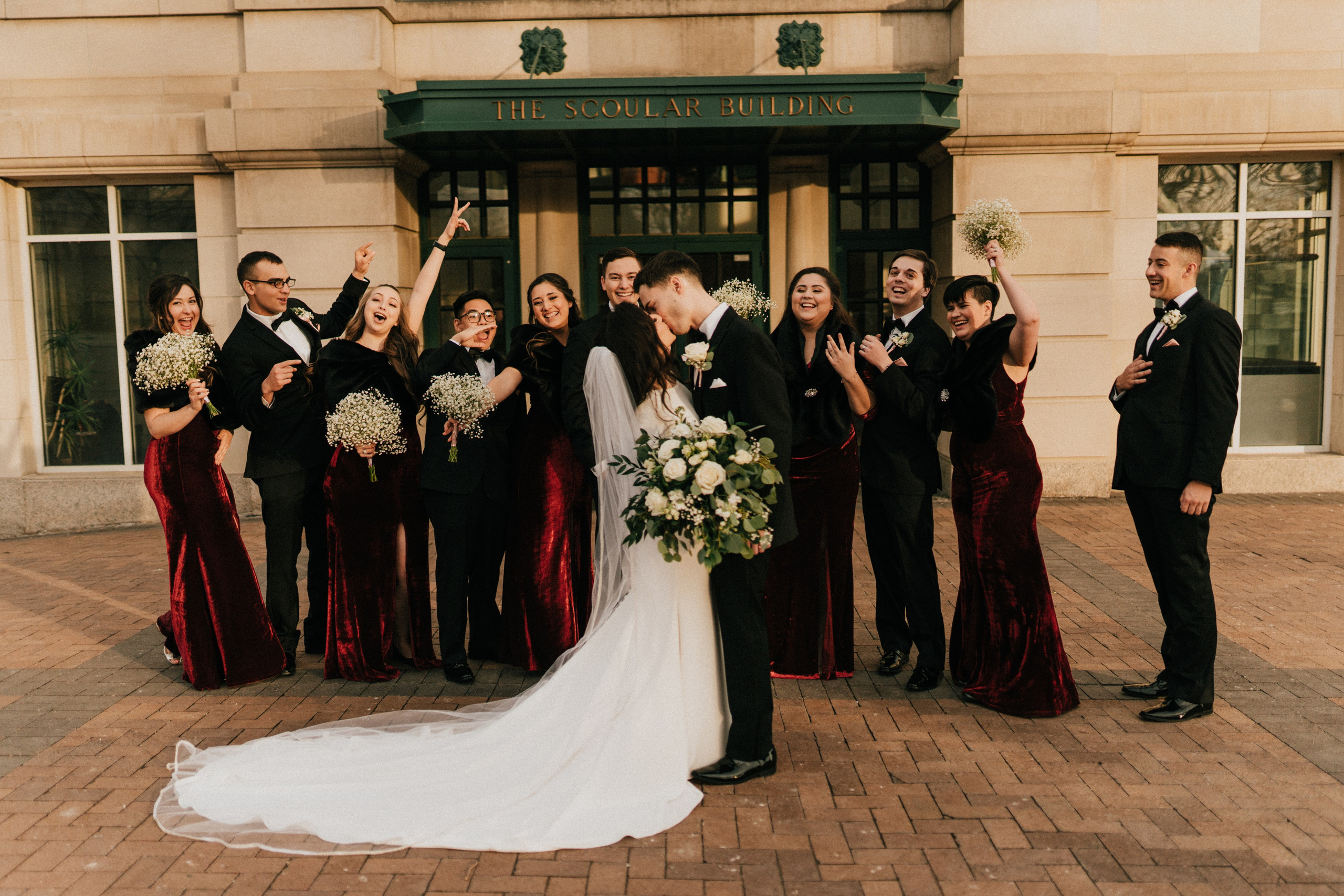omaha wedding at scoular ballroom