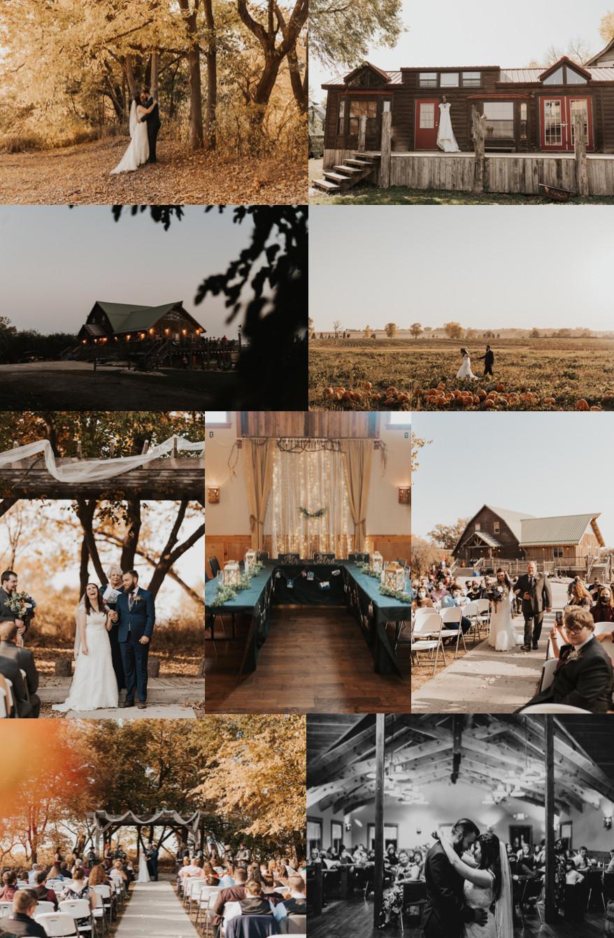 Best Wedding Venues in Omaha Bellevue Berry Farm